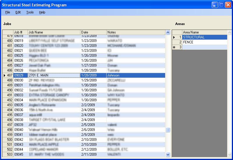 Structural Steel Estimating Software - Custom Software Development